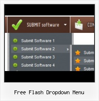 Flash Menu Navigation Vitamind Menu Flash Trasparent Vertical