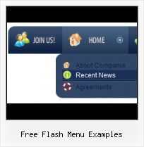 Flash Template Menu Cannot Hover Menu Over Flash
