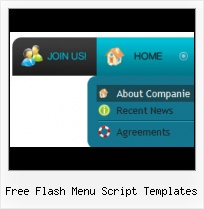 Flash Menu Application With Template Flash Pull Down Template