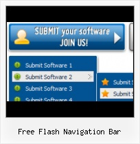 Menu Effect Template Navigation Layer Over The Flash