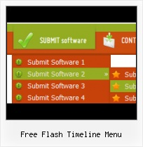 Template De Menu Em Flash Html Css Menu Flashing Effect