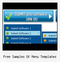 Menuitem Template Download Rollover Images Menu Vertical Flash