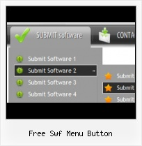 Flash Menu Template Effects Flash Navigation Template