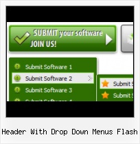 Menu Web Free Flash Xml Menu Bar