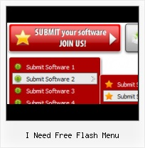 Free Download Website Templates With Submenu Simple Pulldown Menu Flash