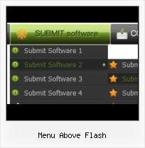 Flash Button Press Flash In Front Of Dhtml Menus