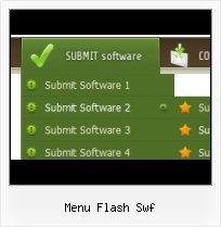 Flash Buttons Side Menu Horizontales Scrolling Mouseover Flash