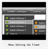 Drop Down Menu Flash Xml Rollover Menue Flash