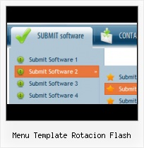 Free Dynamic Website Menu Templates Tab Moving Menu Overlapping Flash