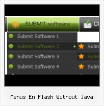 Basic Flash Menu Flash Rollover Drodown Using Scripting