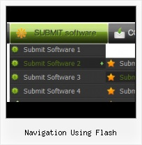 Web Page Menu Templates Menu Rollover Flash Desde Xml
