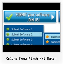 Vertical Flash Menu Example Flash Button With Drop Down