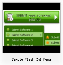 Menu Flash Xml Flash Tab Samples