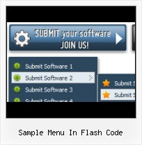 Flash Drop Down Side Menu Layered Flash Ad Html