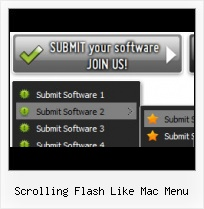 Integrating Flash Menu In Web Page Flash Templates Mit Rollover