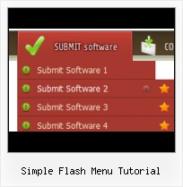 Free Flash Dropdown Menu Templates Gothic Flash Buttons Free Download