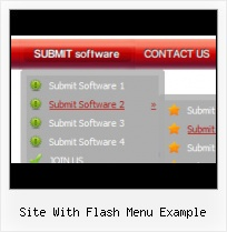 Flash Slide Dropdown Menu Place Css Nav Over Flash Object