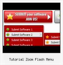 Flash Open Menu Effect Free Flash Website Navigation