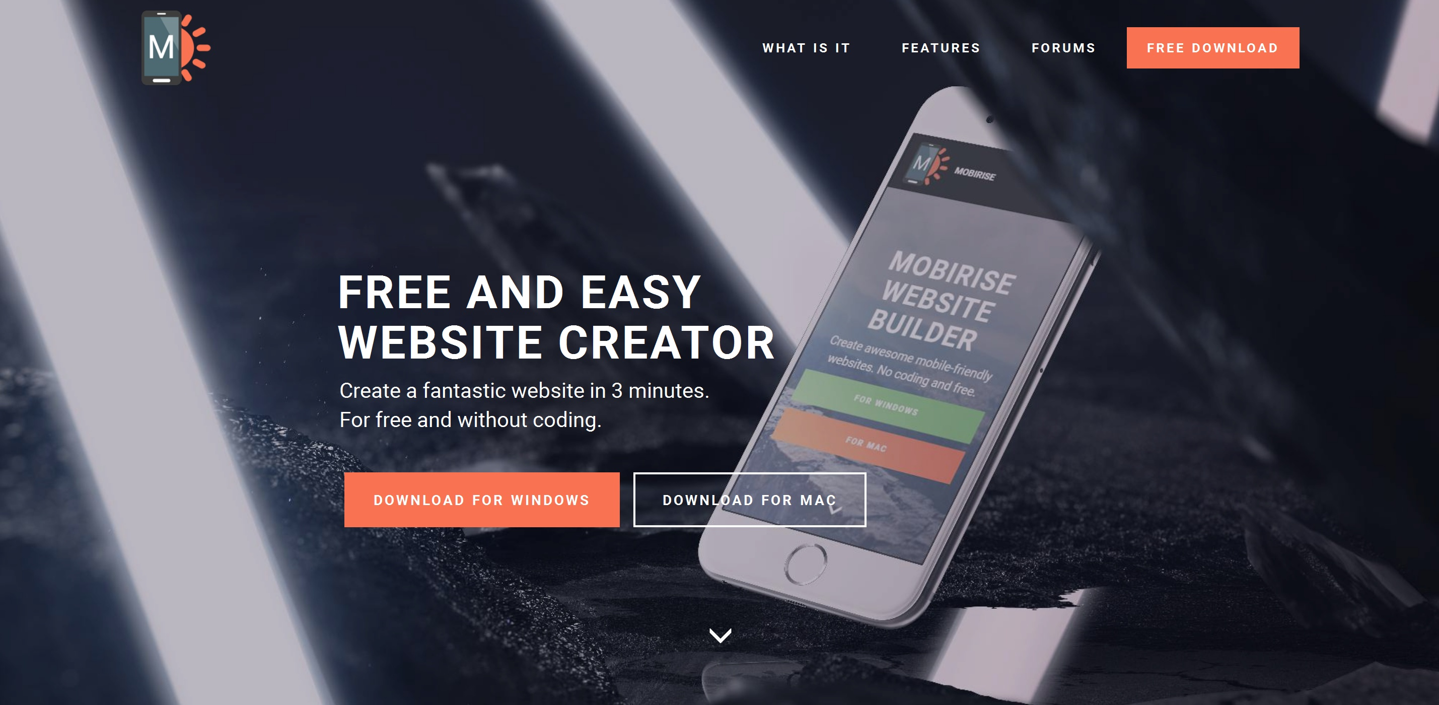 Responsive Easy Website Creator Software