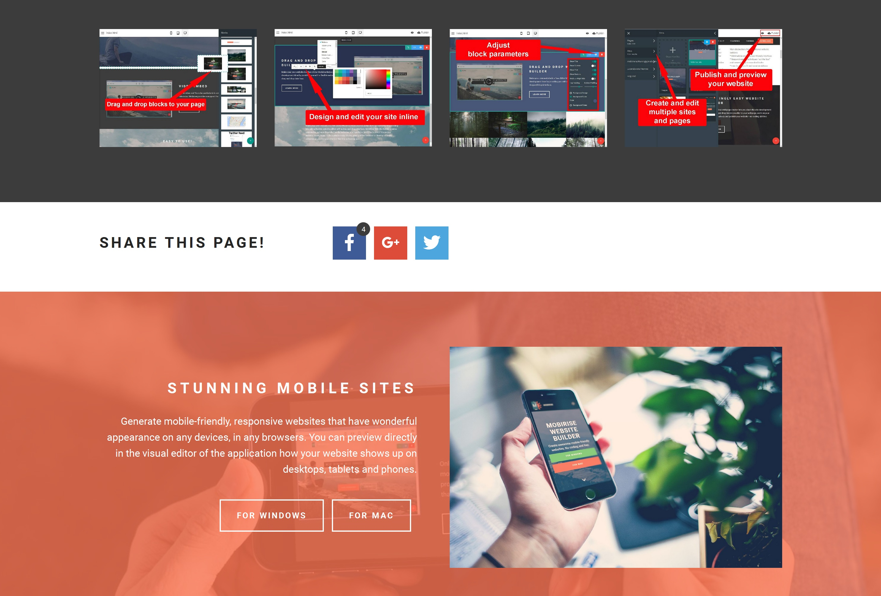 Image result for Simple And Easiest Website Builder