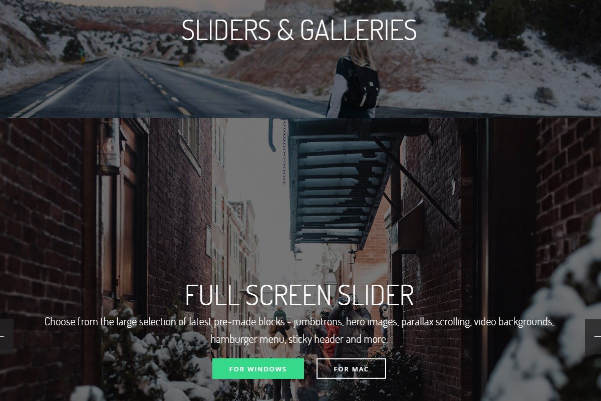 Useful Sliders and Galleries