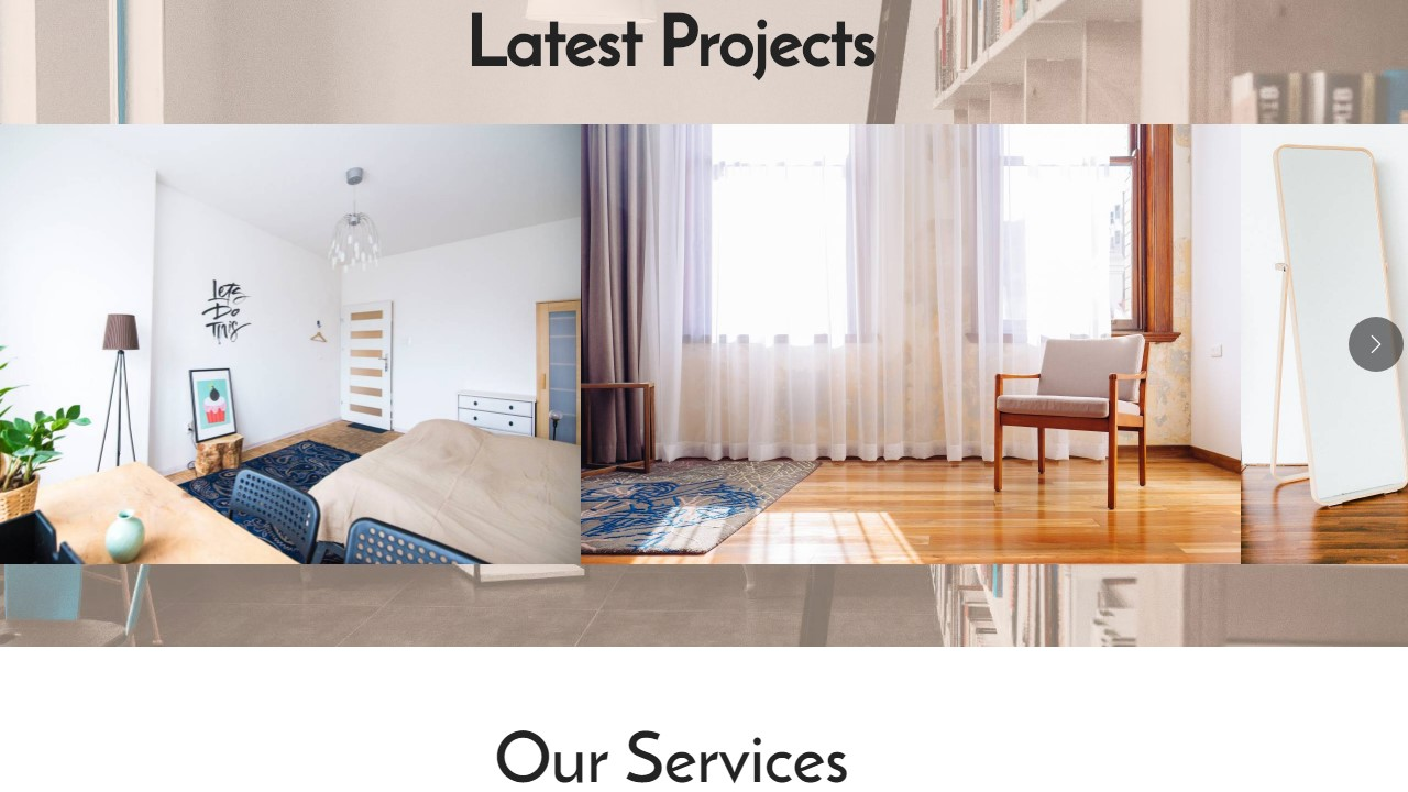 AMP Interior Design Page Template