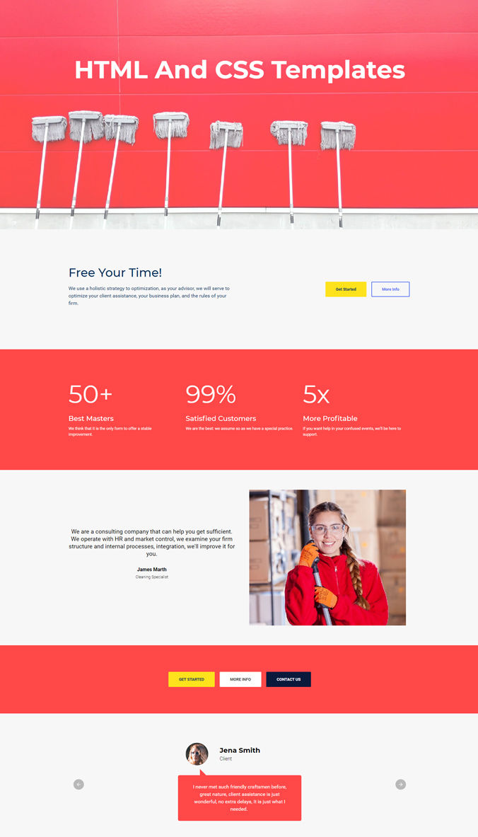 Beautiful Templates for Website