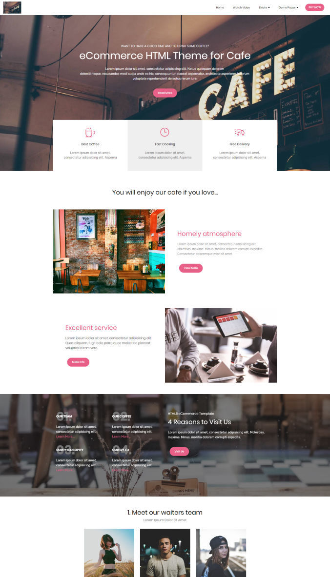 Bootstrap Layout Template