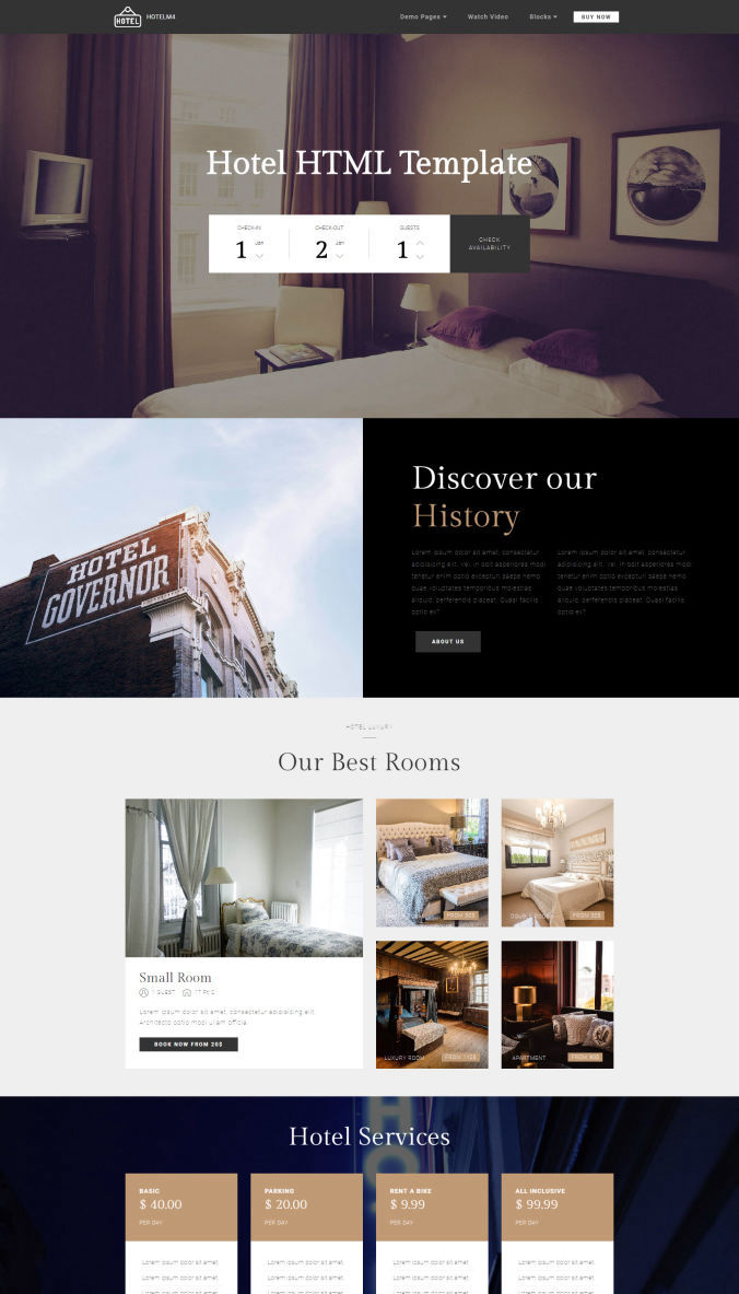 Website Simple Template