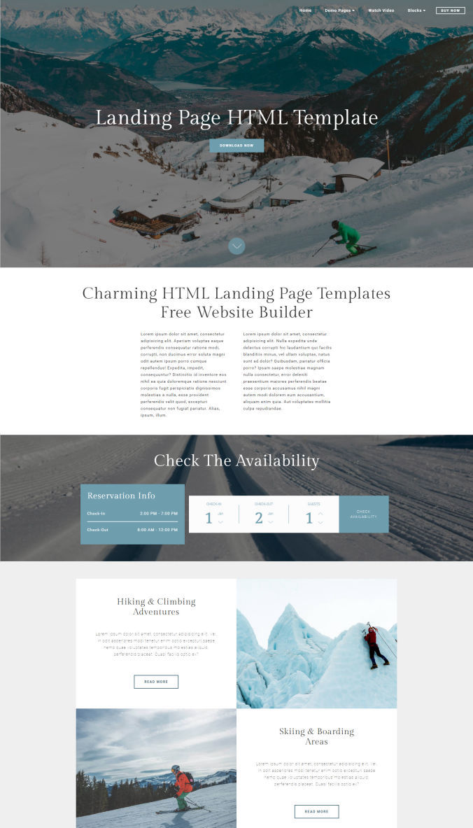 Website Basic Template