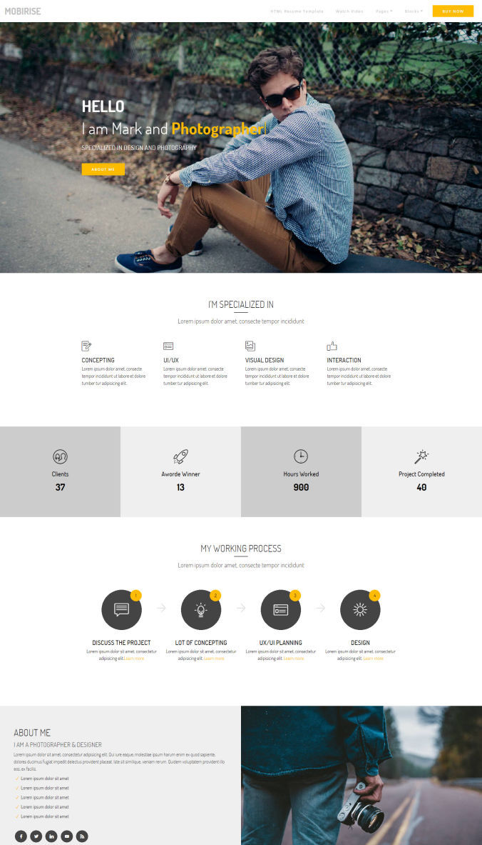 Website CSS Template