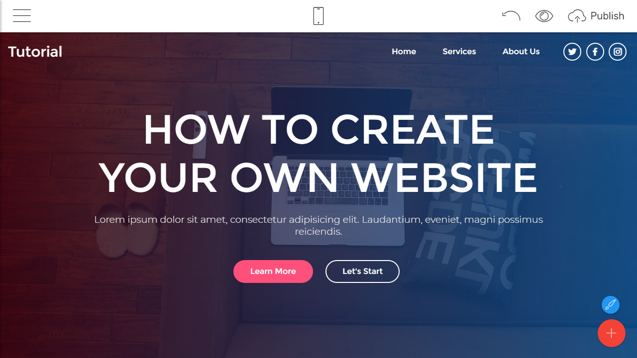 how to make websites