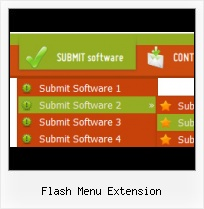 Flash Menu Software Menu Desplegable Horizontal Flash Efecto